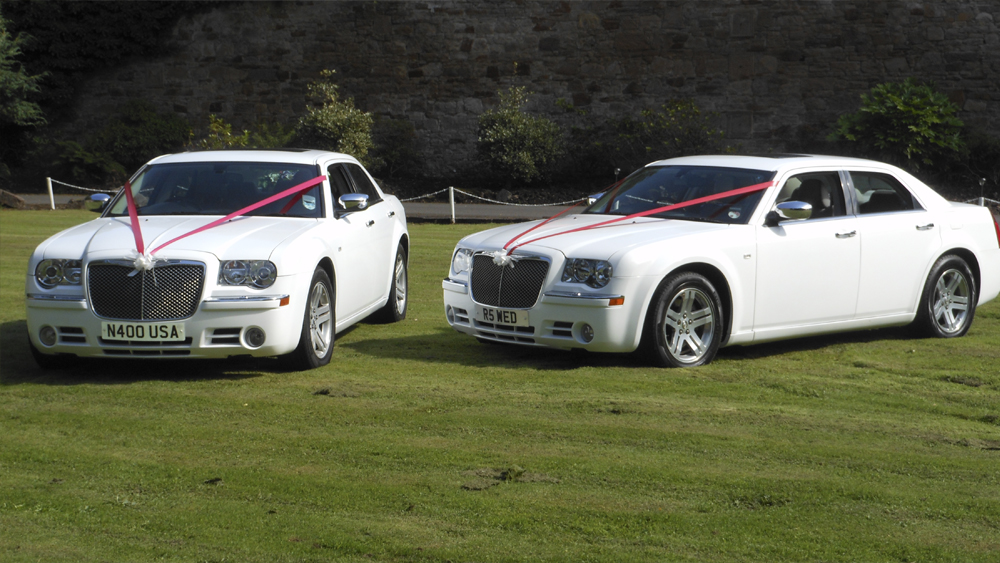 AA Wedding Cars - Chrysler. Ayrshire limo hire, Glasgow limo hire ...